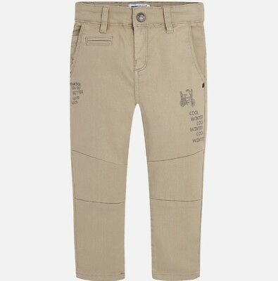 New Boys Mayoral Chino Trousers Slim Fit , Age 2 Years , (4534)
