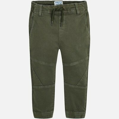 New Boys Mayoral Twill Trousers Jogger Fit , Age 2 Years , (4538)