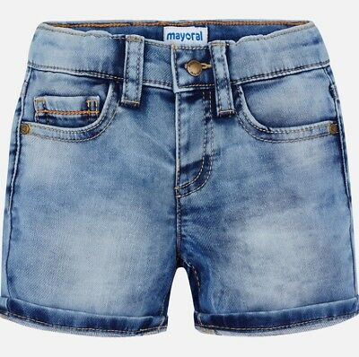 Designer MAYORAL Baby Boys Blue Light Weight Denim Jeans 3-6-9-12-18-24 Months