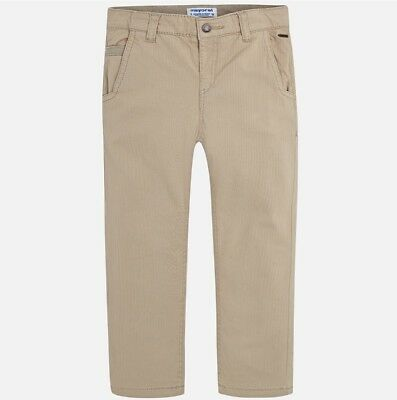 New Boys Mayoral Structured Trousers Regular Fit, Age 2 Years , (4524)