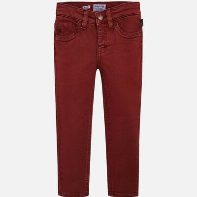 New Boys Mayoral Soft Trousers Slim Fit, Age 2 Years , (4512)
