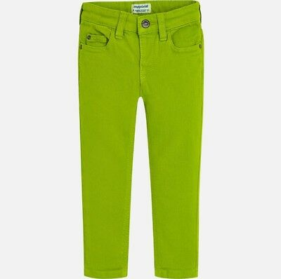 New Boys Mayoral Denim-Twill Trousers Super Slim Fit , Age 2 Years , (4530)