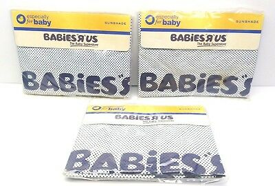 Sunshade For Car Window for baby New Babies R us - LOT OF 3
