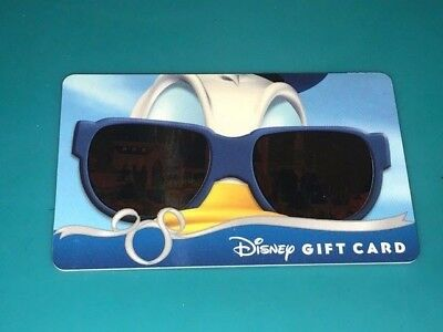 Limited Disney DONALD DUCK Magic Kingdom Sunglasses Series Gift Card - No  Value