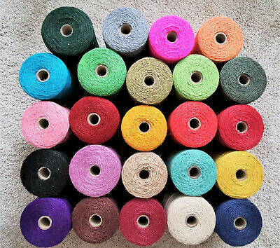 Everlasto Coloured 2 - 2.5mm Jute Craft & Gift Twine/String/Cord - 10m to 100m