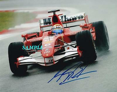 Michael Schumacher #1 Reprint Autographed Signed Picture Photo Formula One Rp