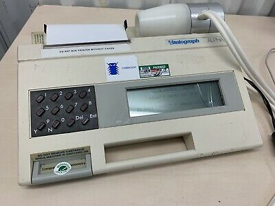 Vitalograph Alpha Spirometer System with integrated printer (Glass issue)