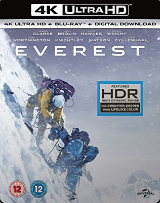 Everest 4K Uhd/Bd/Uv Blu-Ray New