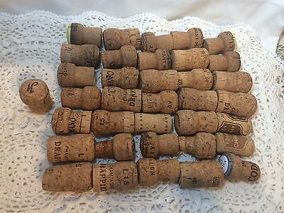 75 Used Champagne Corks, Great for Crafting or as Wedding Corks!