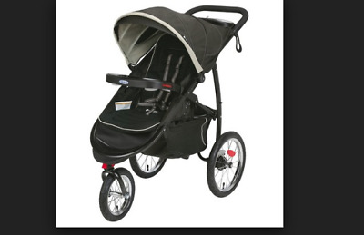 New Graco Black FastAction Fold Jogger XT Click Connect Stroller