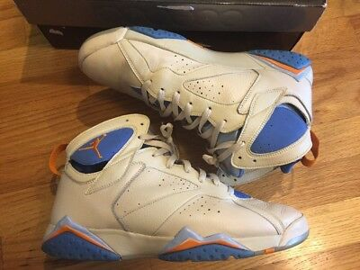 best website 20052 9a815 AIR JORDAN RETRO 7 Pacific Blue - $80.00 | PicClick