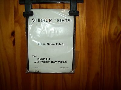 ***Dancing*** New Black Stirrup Tights Age 5-7 Size 2 Free P&P Uk Only***