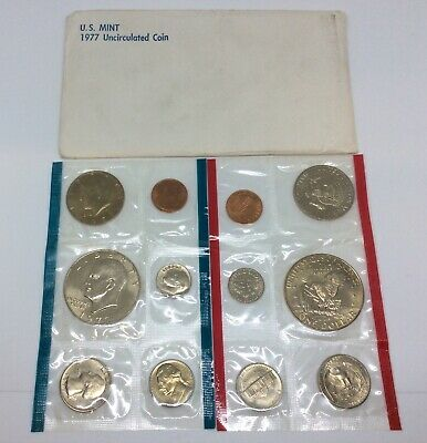 5 Different Old Rare UNCIRCULATED US Kennedy Half Dollars Mint cello Mixed Lot