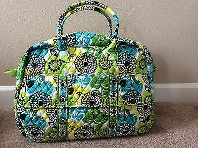 Vera Bradley Grand Traveler LIME'S UP 11889-123 Duffel Luggage Bag Carry-On NEW