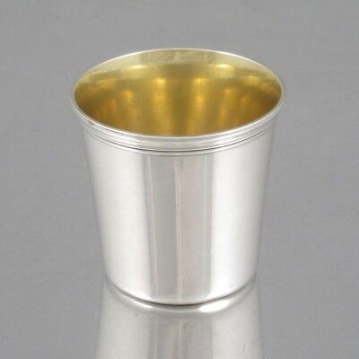 Antique French Christofle Silver Plated and Gilded Cordial Cup