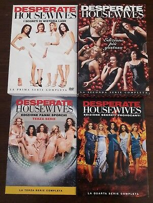 Desperate Housewives dvd stagioni 1, 2, 3, 4 complete