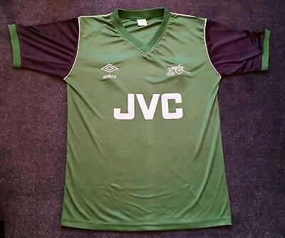 Retro Arsenal 1982-1983 Away JVC Shirt ALL SIZES/SLEEVES