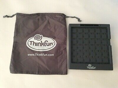 Think Fun RUSH HOUR game TRAFFIC GRID & GAME GO TRAVEL BAG 2010 replacement