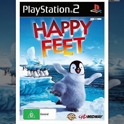 Happy Feet ( Ps2 Game Pal) Brand New Still Sealed, Free Postage.