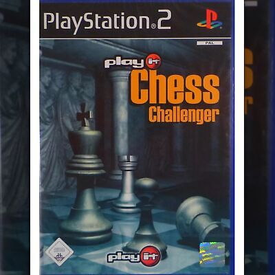 PLAY IT CHESS CHALLENGER (PS2 GAME PAL) Brand new Still Sealed, FREE POSTAGE.