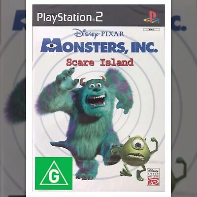 Monsters, Inc. Scare Island (Ps2 Game Pal) Brand New Still Sealed, Free Postage.