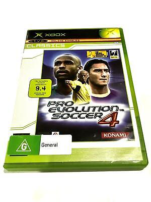Pro Evolution Soccer 4 (Xbox Pal) Pre-Owned, Free Postage.