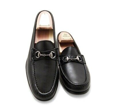 49d3a26378c Alden H467 Cape Cod Black Leather Horse Bit Loafers Shoes Made in USA Size  10 D
