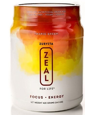 Zurvita ZEAL FOR LIFE 30 Day Supply Tropical Dream ( Free Shipping)