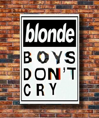 Hot Poster Frank Ocean Blonde Blond Boys Don't Cry Magazine Rapper Star Z3009