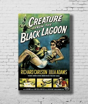 H357 24x36 14x21 Poster THE CREATURE FROM THE BLACK LAGOON Movie Universal Art