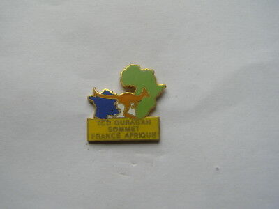 pins militaire TCD ouragan sommet france afrique