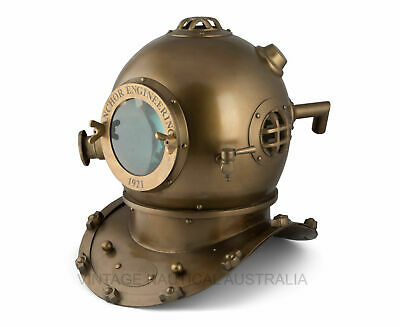 Anchor Diving Helmet US Navy Divers Scuba Anchor Engineering Helmet Replica
