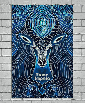 1239D New Tame Impala Custom Psychedelic Rock Music-Print Art Silk Poster