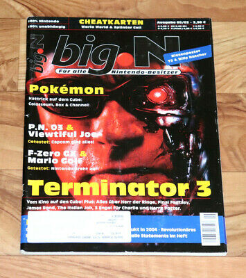 2003 Nintendo Magazine Final Fantasy Mario Kart Double Dash Golf Viewtiful Joe