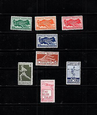 Turkey - OTTOMAN EMPIRE - Selection of MH sport Stamps   LOT (TUR - 500)