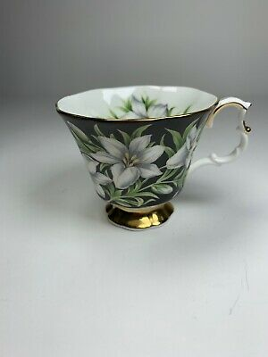 Vintage Royal Albert Bone China Cup Provincial Flowers Madonna Lily