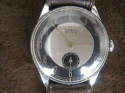 Vintage Mechanical DEBAL SUISSE Wristwatch - Cylinder Delba Watch Co Swiss Made