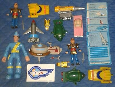 1992 *** Collection Of Thunderbirds Vehicles Set 3 *** Tb 1 2 4 5 Fab1 Mole Hood