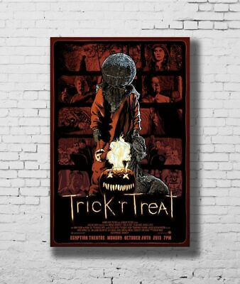 H721 TRICK R TREAT Horror Sam Halloween Classic Movie Poster - 8x12 24x36 Gift