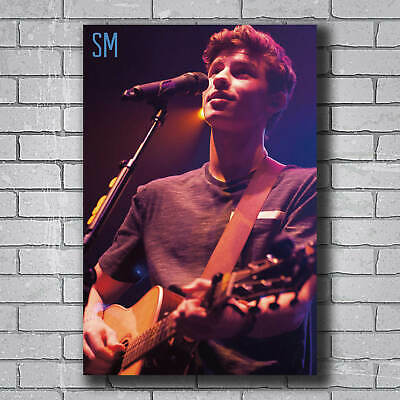 W167 Hot Shawn Mendes In My Blood Pop Music Singer Star Rock Poster Wall Art