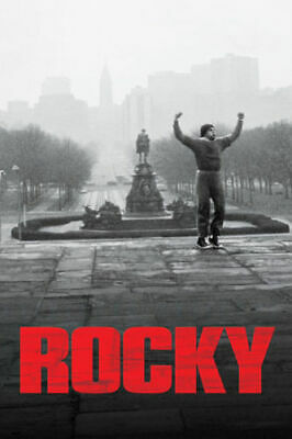 W865 Rocky Classic Movie Sylvester Stallone Fighting 24x36'' Art Silk Poster