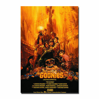 H984 The Goonies Movie Poster - Treasure Classic Art Silk Poster