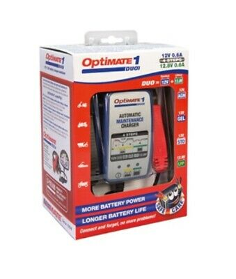 New Optimate 1 Duo Smart And Safe Battery Charger - Lithium And Lead Acid Batt