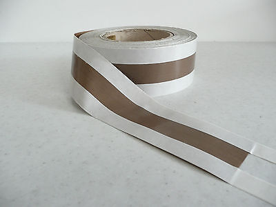 heat /vacuum sealer/packer PTFE zone glass Teflon tape 20/40/20  * per mtr