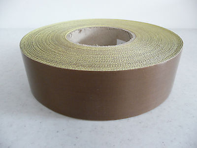 heat /vacuum sealer/packer PTFE self adh glass Teflon tape 75 x 0.15mm * per mtr