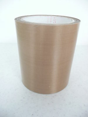 heat /vacuum sealer/packer PTFE non adh glass Teflon tape 130 x 0.08mm * per mtr