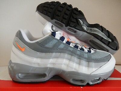 068a70b10a NIKE AIR MAX 95 Id White-Grey-Black-Photo Blue Sz 11 [818592-996 ...