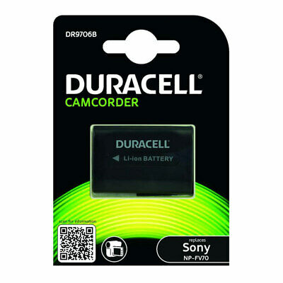 Duracell Sony CamcorderReplacement Battery Digital Camera NP-FV70 New UK