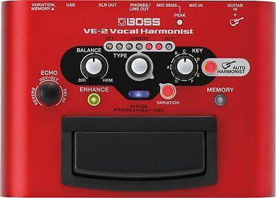 Boss VE-2 VE2 Vocal Harmonist Used In from Japan Sound Efect Pedal Type