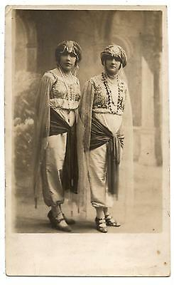 Postal Photo.femme Orientale.costume.mode.orientalisme